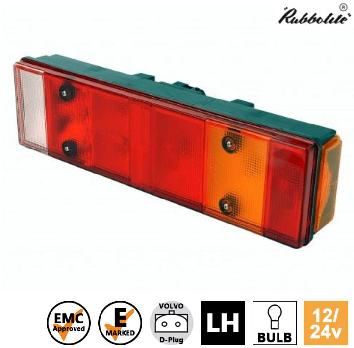 2x 24V dual function LED lamps position side marker indicators lights chassis truck trailer bus E-marked CE-approved