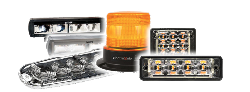 New ranges of LED driving lights and warning lighting from LED Autolamps – now available!