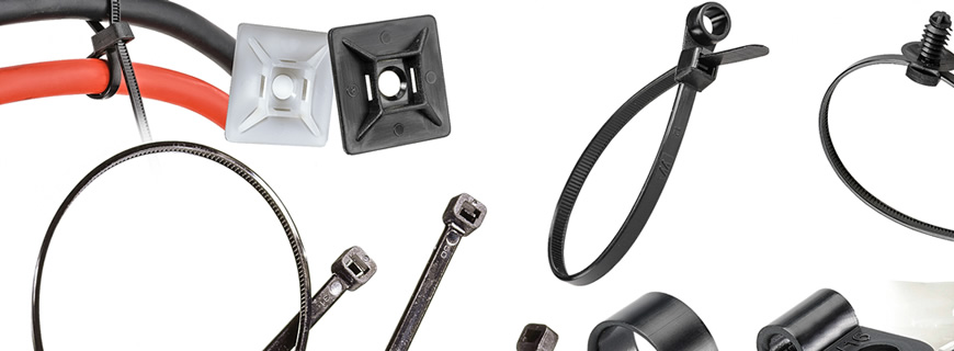 Get things all wrapped up with our new ranges of cable ties…