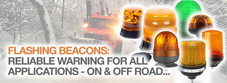 Flashing beacons: Reliable warning, for all applications…